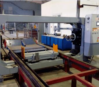 Пресс холодной запрессовки буксового узла роликового и кассетного типа РП-400